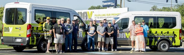 Van Program Locations and Schedules DAV Vans Serving Wisconsin